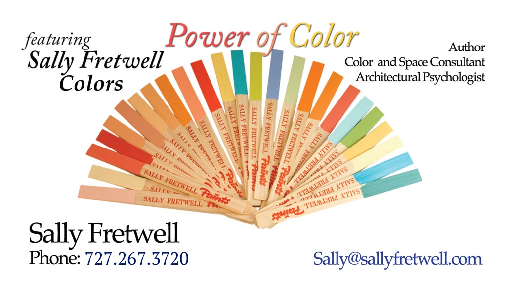 Sally Fretwell Color Consultant
